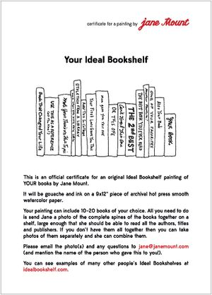 YourIdealBookshelf